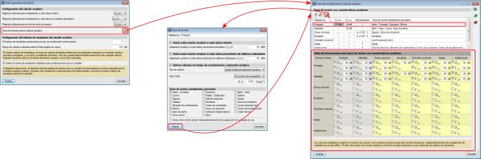 CYPECAD MEP. Estudio acústico. Aislamiento acústico con EN 12354 (ISO 15712). Definición de tipos de recintos sensibles para el cálculo acústico